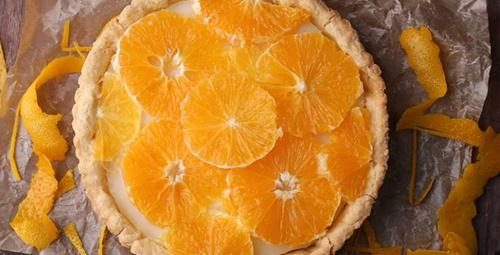Hafif bir tatlı; portakallı turta!