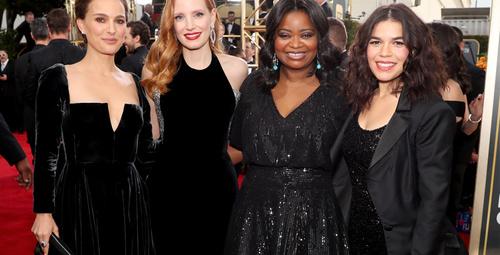 BAFTA 2018 kırmızı halıda şıklık yarıştı!