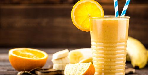 Vitamin deposu; Portakallı Smoothie!