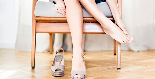 Severek giydiğiniz topuklu ayakkabılar aslında...