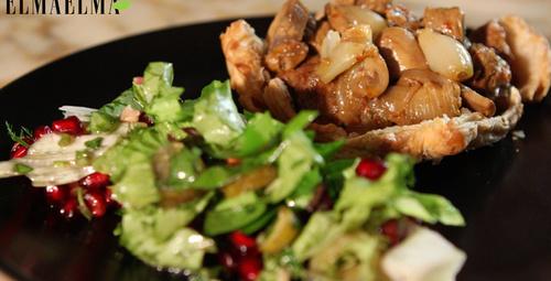 Lezzetli mi lezzetli milföy hamurlu et yemeği