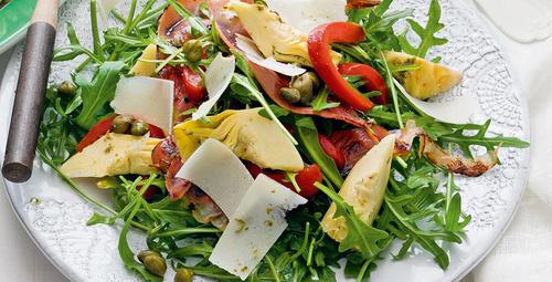 Buğdaylı enginar kalbi salatası tarifi
