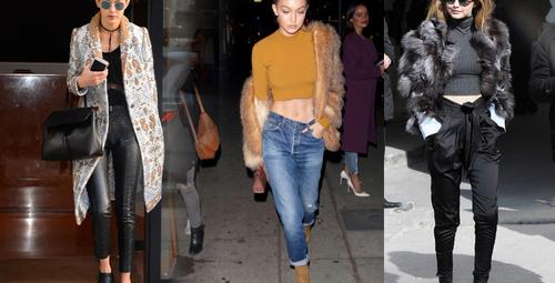 Gigi Hadid'in sokak stilinden ilham alın!