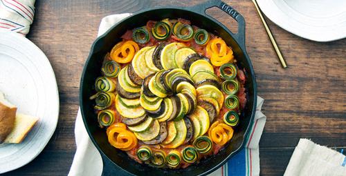 Fransız mutfağından Ratatouille'yi sofralarınıza taşıyın!