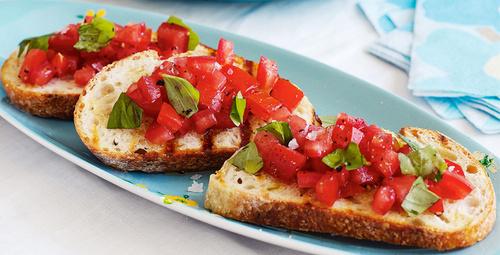 Bir İtalyan lezzeti Bruschetta!