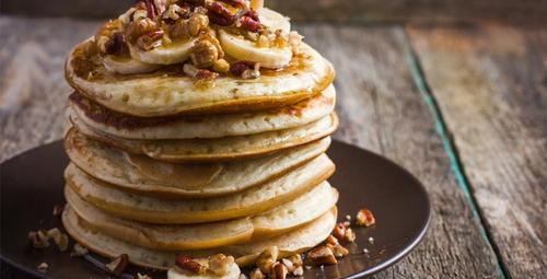 Güne tatlı bir başlangıç; bol lifli pancake!