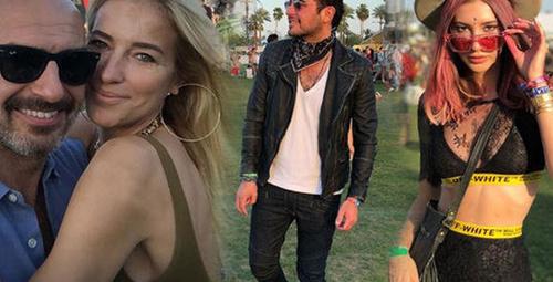 Coachella festivaline ünlüler akın etti!