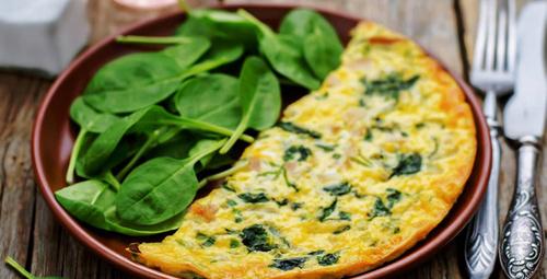 Sebzeli omletle güne hafif bir başlangıç yapın!