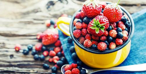 Kırmızı ve mor meyveler mucize yaratıyor!