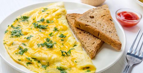 Güne sağlıklı bir omletle başlayın!