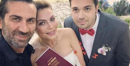 Seray Sever kendisinden 10 yaş küçük sevgilisi Eray Sünbül ile evlendi