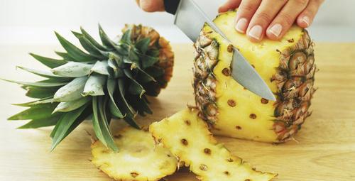 Ananas kabuğu ile fazla kilolardan kurtulma zamanı!