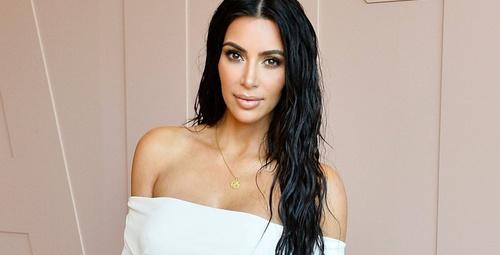 Kim Kardashian'ın estetiksiz görüntüleri ifşa oldu! Meğer ilk hali...