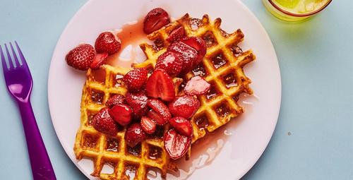 Kendi waffle'nızı kendiniz yapın!