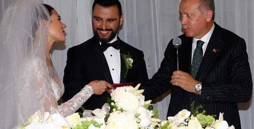Alişan evlendi işte Buse Varol'un gelinliği