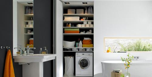 Çamaşır makinenizi bu yöntemle saklayın!