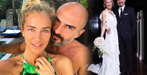 Burcu Esmersoy Berk Suyabatmaz ile evlendi!