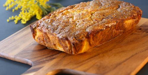 Pırasalı mısır unlu tuzlu kek tarifi videosu