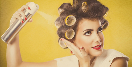 Saç spreyinizi evde kendiniz hazırlayın!