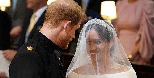 Prens Harry ve Meghan Markle evlendi işte ilk görüntüler