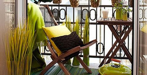 Balkon dekarasyonunda müthiş öneriler