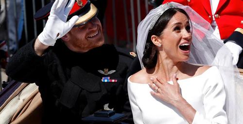 Düğünden sonra ilk kez görüntülendiler