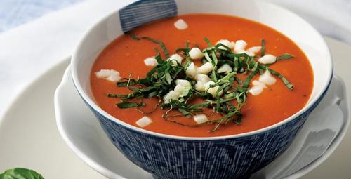 Kurutulmuş domates çorbasını birde böyle deneyin!