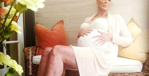 54 yaşındaki oyuncu 15 yaş küçük eşinden hamile kaldı! Herkes şokta