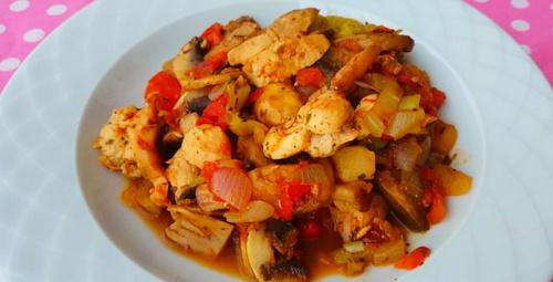 Kalpleri fethedecek lezzet: Tavuklu mantar sote