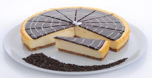 Bu lezzete bayılacaksınız: Çikolatalı cheesecake