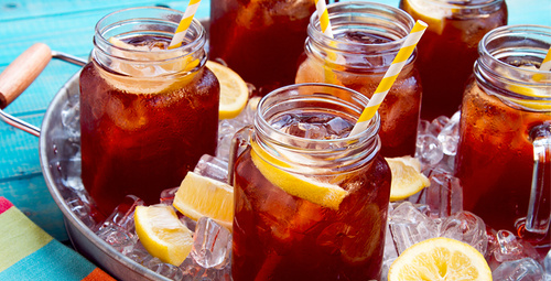 Bunaltıcı havalarda 3 dakikalık soğuk çay tarifi!