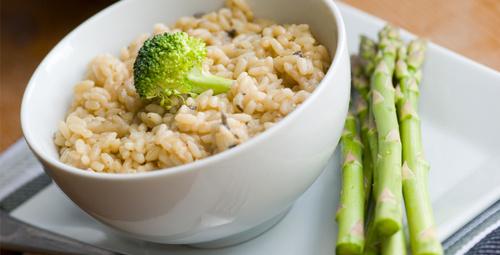 Farklı lezzetlere açık olanlar için enginarlı risotto!