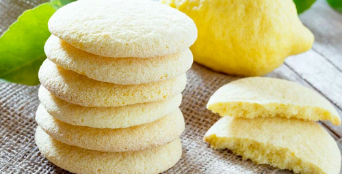 Ağızda dağılan limonlu kurabiye tarifi!
