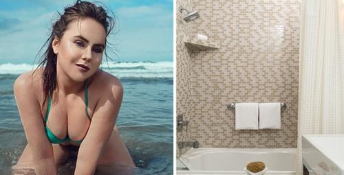 Genç kadın lüks otelde banyo yaparken sesler duydu, sonrası iğrenç