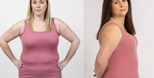 6 kilolu kadın bu test ile zayıfladı son halleri şoke ediyor