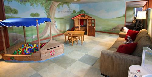 Çocuk odaları için mükemmel fikirler