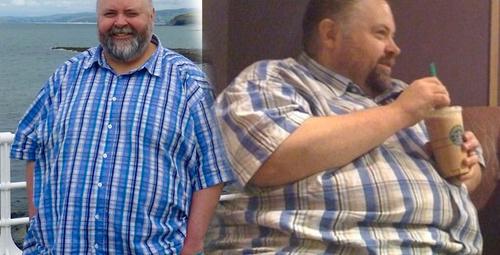 Obez adamın inanılmaz değişimi! 8 beden birden küçüldü işte son hali