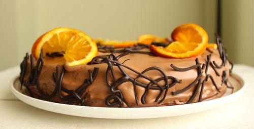 Fresh lezzet sevenler için portakallı çikolatalı pasta!