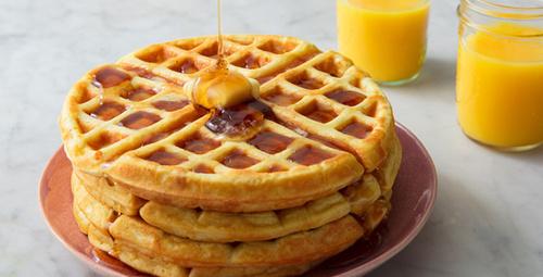 10 dakikalık waffle lezzeti!