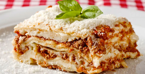 Muhteşem lezzet: Lazanya tarifi