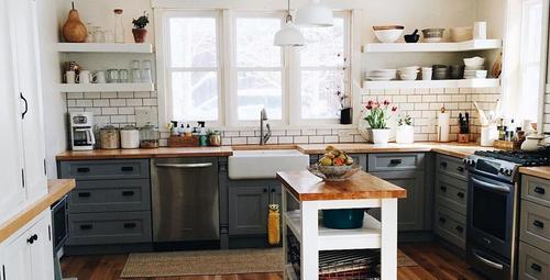 Küçük mutfaklar için büyük dekorasyon fikirleri!