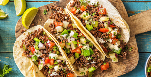 Baharat sevenler için Meksika mutfağında Tacos lezzeti!