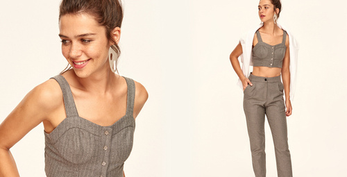 Günün kombini: Bluz pantolon rahatlığı