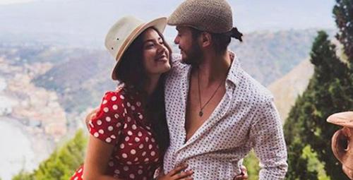 Pelin Akil'in eşi Anıl Altan'ın son fotoğrafında meme uçları olay oldu