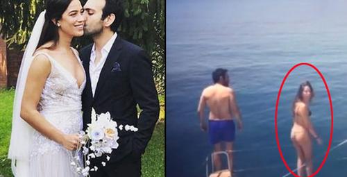 Müstakbel eşin tangalı fotoğrafları sosyal medyayı salladı