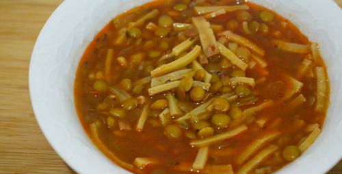 Şifa kaynağı: Yeşil mercimek çorbası