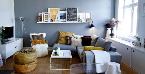 Oturma odası küçük olanlara dekorasyon fikirleri!