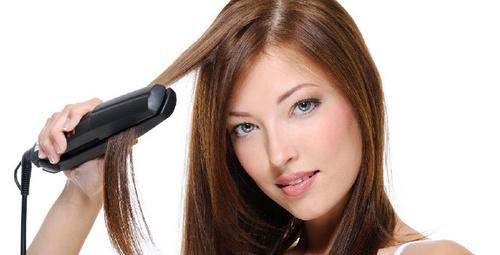 Saç düzleştirici kullanırken bu hataya düşmeyin!