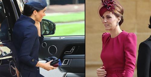 Meghan mı Kate mi işte kraliyet düğününün en şık kadınları