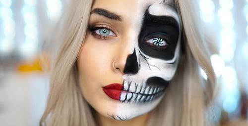 Cadılar bayramında kostümü olmayanlar için makyajlar!
